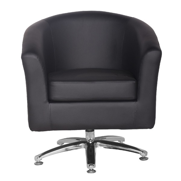 Leather Tub Chairs Designer Leather Swivel Tub Chair ...