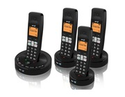 BT 3510 Quad Digital Cordless Phone Answer Machine
