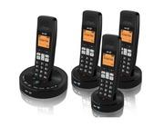 BT 3510 Quad Digital Cordless Phone Answer Machine