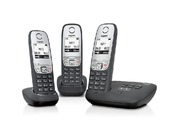 Siemens Gigaset A415a Trio Digital Cordless Phone Answer Machine