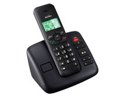 Binatone Solas 1520 Digital Cordless Phone Answer Machine - Black